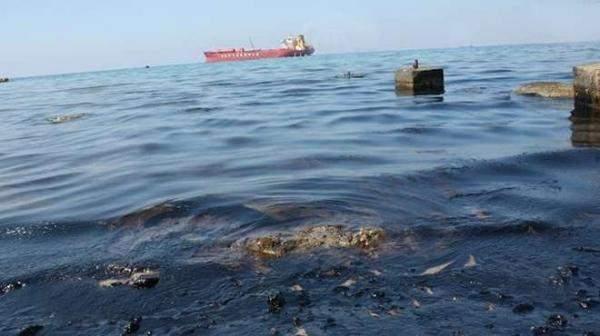 التسرب البترولي في البحر الأحمر