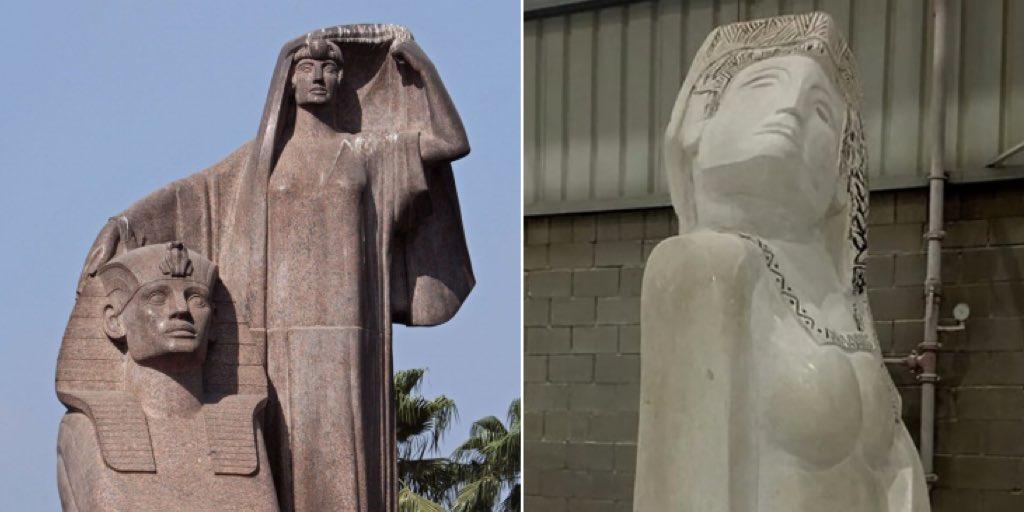تمثال نهضة مصر وشبيه تمثال نهضة مصر