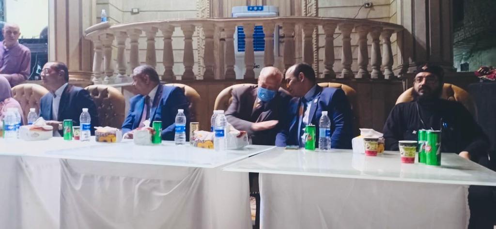 فؤاد القاضي مرشح حزب الشعب الجمهوري بانتخابات مجلس الشيوخ فردي في القاهرة بلقاء شعبي بالتبين