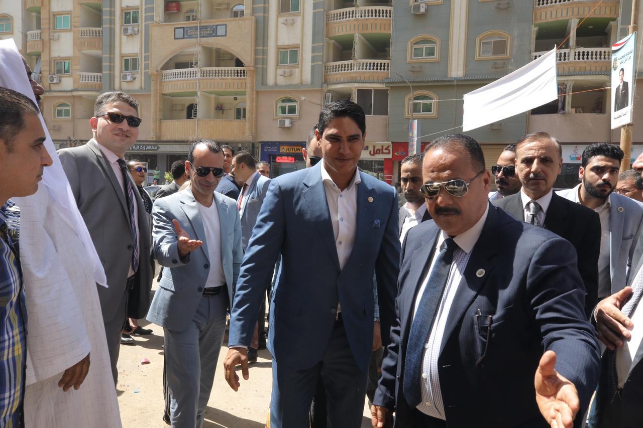أحمد أبو هشيمة يفتتح مقر حزب الشعب الجمهوري بمحافظة بني سويف
