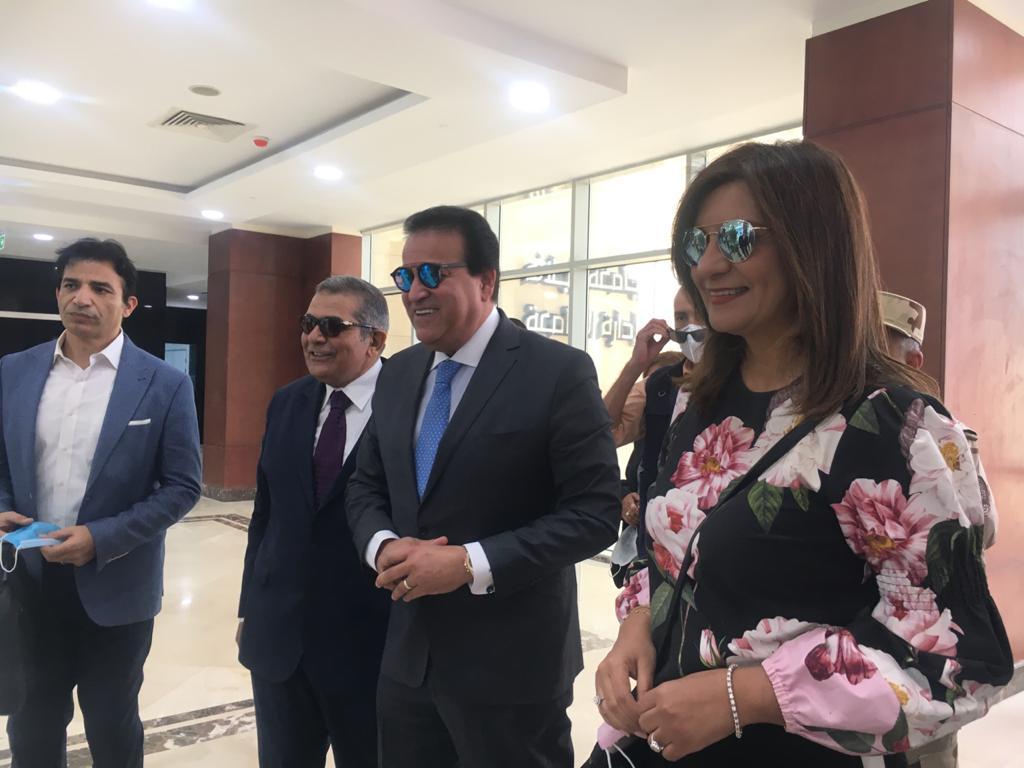 وزارتا الهجرة والتعليم العالى تنظمان جولة لشباب المصريين بالخارج لمدينة الجلالة