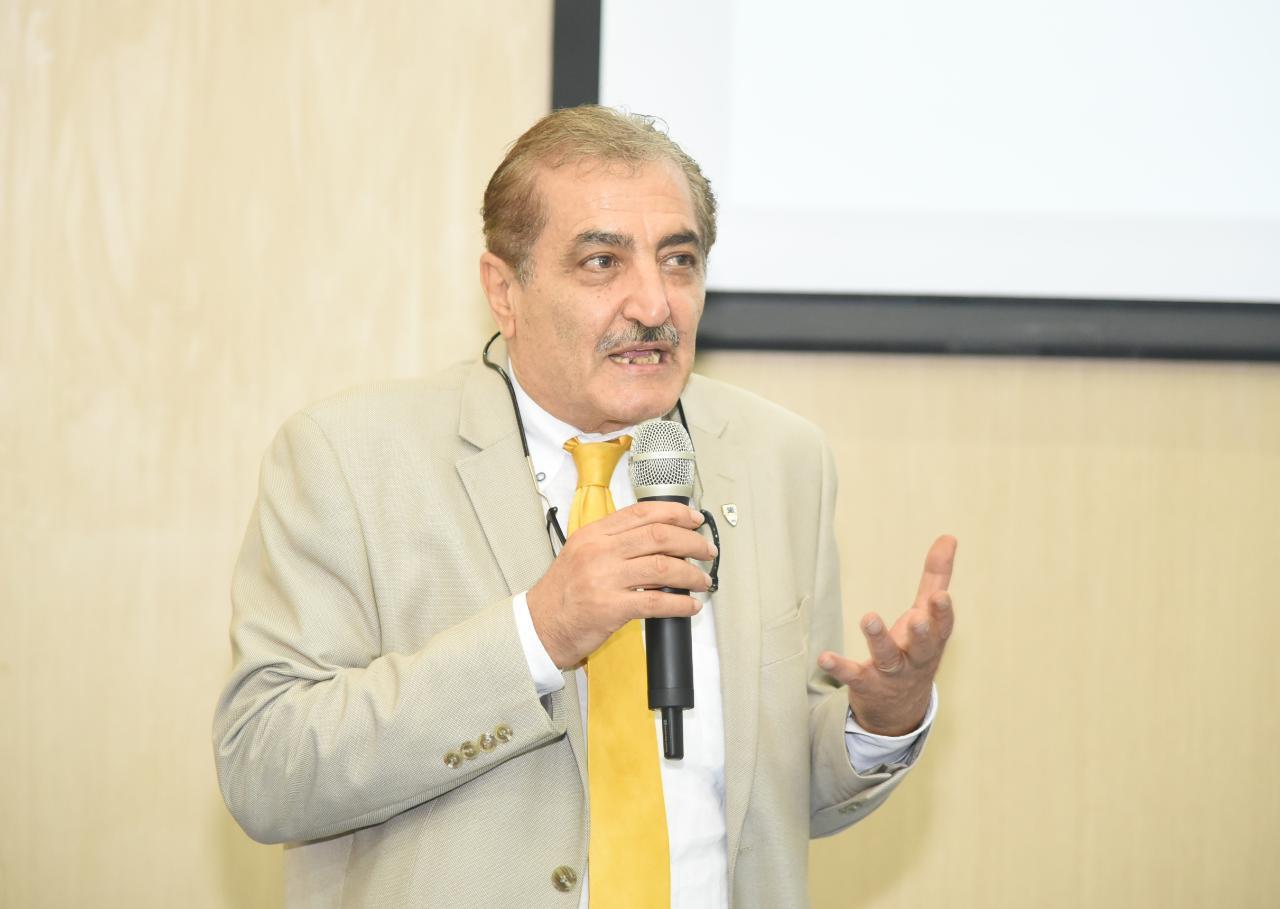 الدكتور أيمن مسلم أستاذ ورئيس قسم الهندسة بجامعة كاليفورنيا بالولايات المتحدة الأمريكية