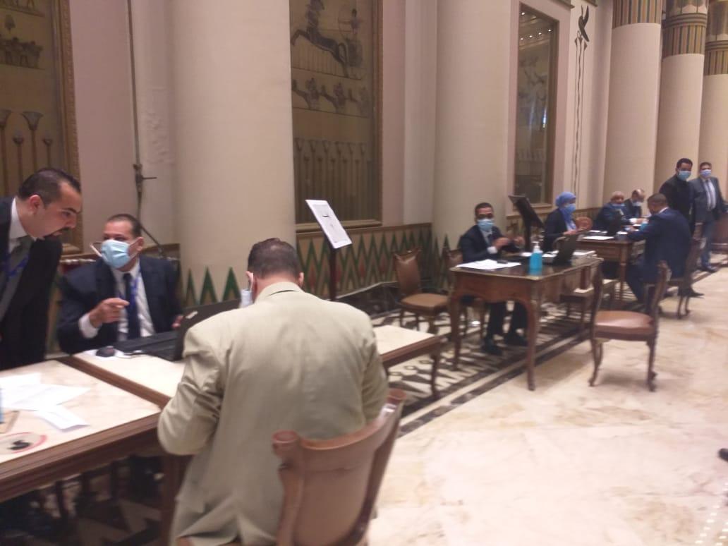 مجلس الشيوخ يتستقبل الأعضاء الجدد لاستخراج كارنيهات العضوية