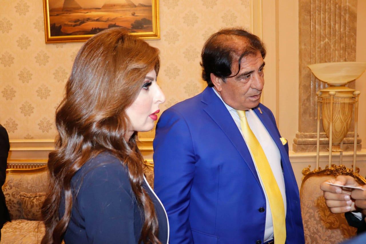 يسرا أحمد فؤاد أباظة عضو مجلس الشيوخ