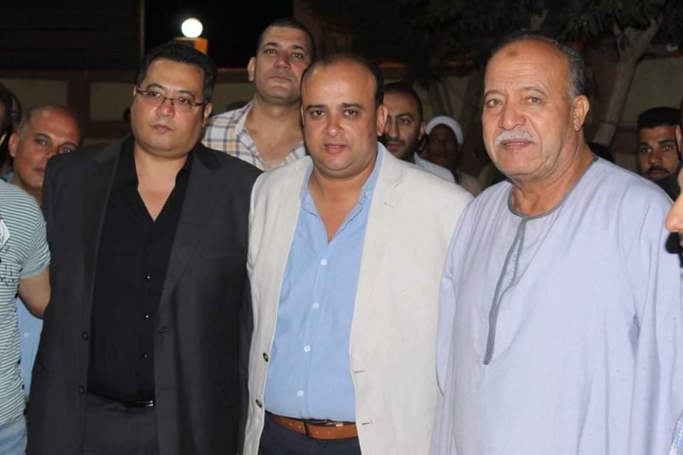 جولات مكثفة للعمدة إبراهيم سرحان ببنها وكفر شكر وتواجد قوي بالدائرة