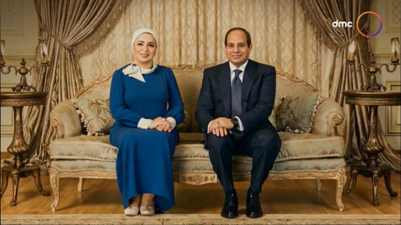 انتصار السيسي ورئيس الجمهورية