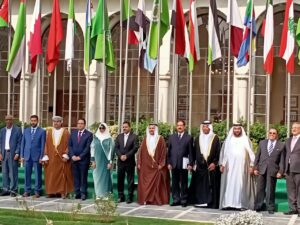 مشاركة المهندس اشرف رشاد بالجامعة العربية