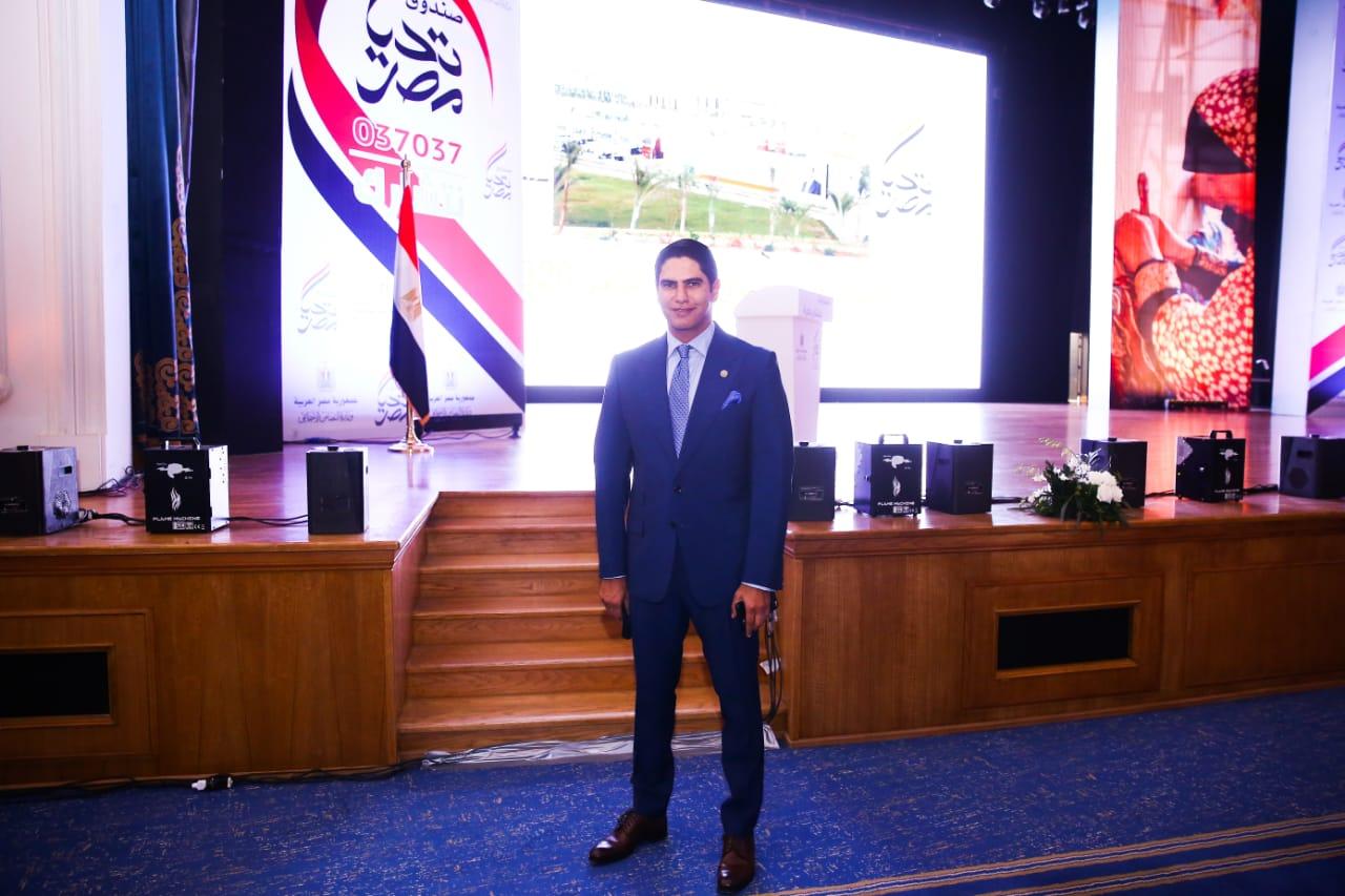 النائب أحمد أبوهشيمة ـ عضو مجلس الشيوخ
