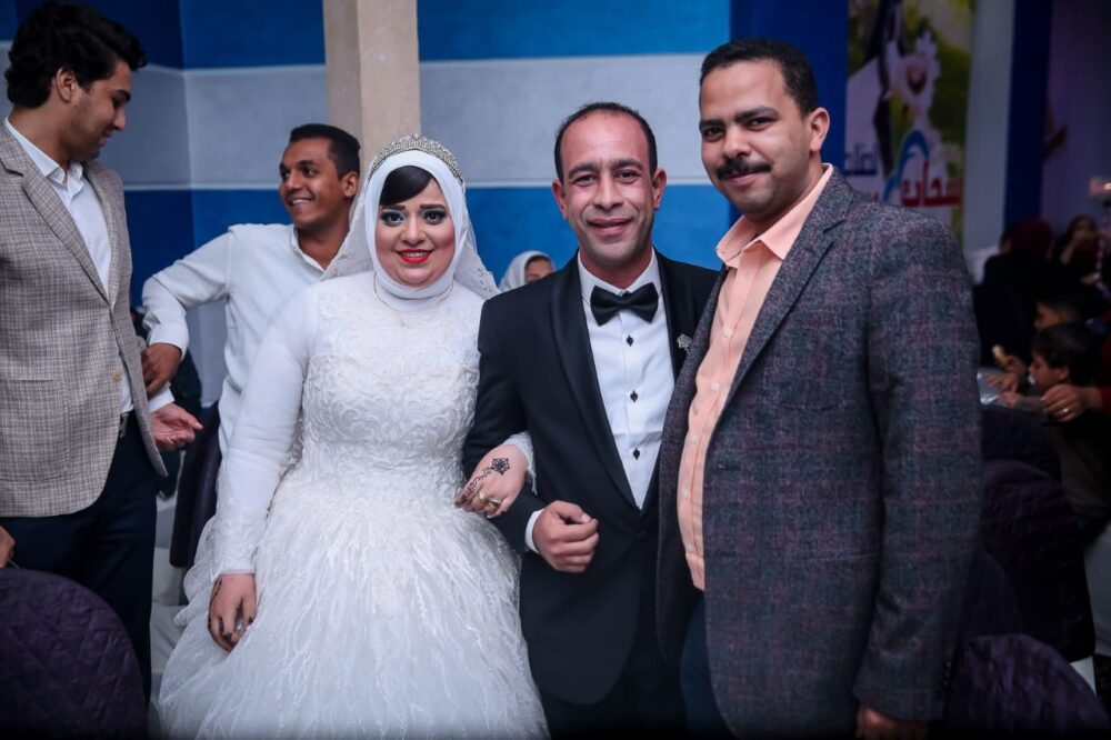 النائب أشرف رشاد في حفل الزفاف