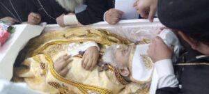 جثمان القمص باسيليوس برسوم
